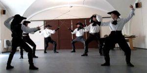 классическое фехтование